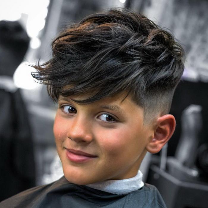 Kann Man Die Frisur Auch Als Mädchen Tragen? Jungs Kurzhaarfrisur