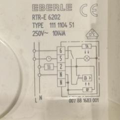 3 Phasen Strom Honeywell Vc7931 Actuator Wiring Diagram Kontrolleuchte Thermostat Fußbodenheizung Richtig Anschließen (elektrik, Raumthermostat, Eberle)