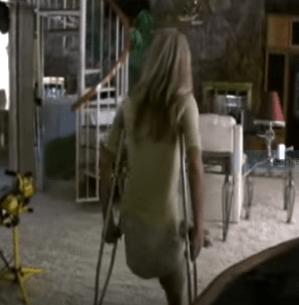 Krcken Treppe laufen Verletzung Treppen laufen