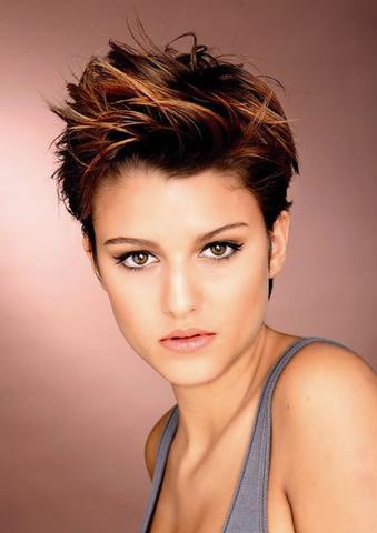 Was Sagt Ihr Zu Frauen Mit Kurzhaar Frisuren? Haare Mode Frisur