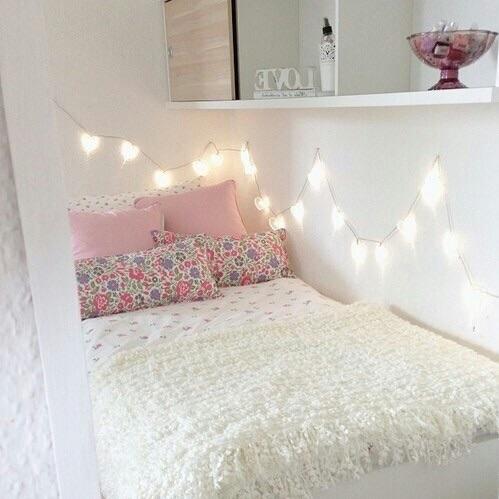 Elegant Lichterkette Gesucht Für Bett! (zimmer, Dekoration, Wand
