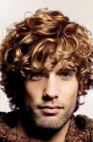 Männer Locken Frisur Komm Mit Meinen Locken Nicht Klar Haare Curls