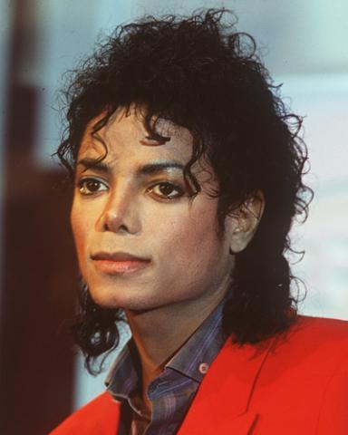 Michael Jacksons Haare Frisur Locken gltten