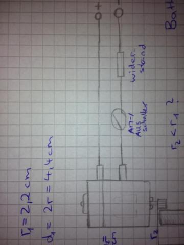Motor mit Widerstand verlangsamen stromkreislauf poti