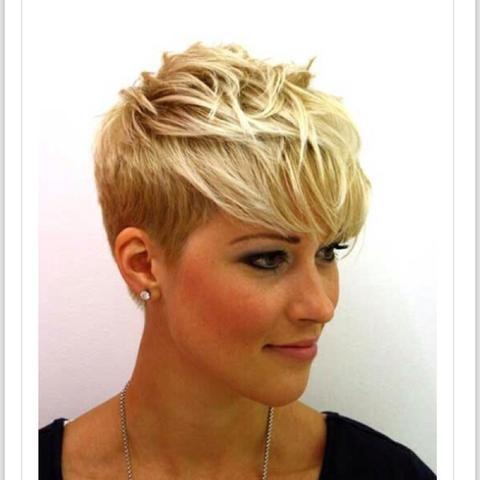 Pixie Cut Mit Braunen Haaren? Bild! Mädchen Frisur Braune Haare