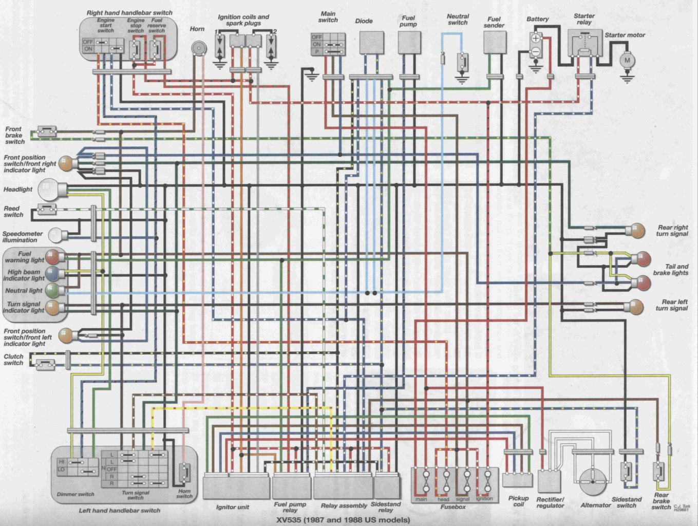 1984 honda vt500c wiring diagram color wiring diagrams data base rh alfrescosolutions co 1984 honda shadow [ 1359 x 1024 Pixel ]