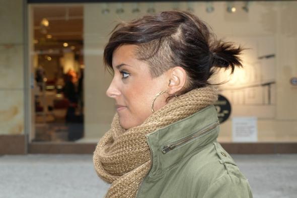 Haarschnitt mit sidecut  Modische haarschnitte und