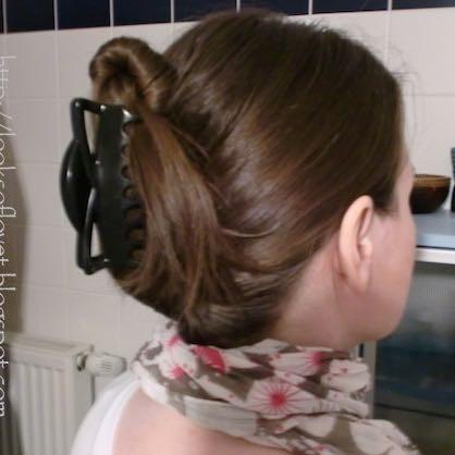 Sieht Das Schlimm Aus Spange? Haare Frisur Haarspange