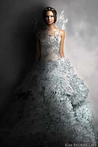 Suche Hochzeitskleid Panem Kleid Katniss Everdeen