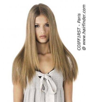 Welche Haar Frisur Sieht Besser Aus? Schule Mädchen Haare