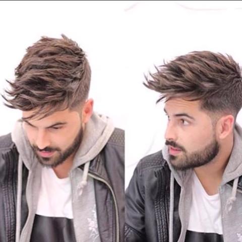 Wie Bekomme Ich Meine Haare So Gestylt Wie Auf DemBild? Frisur