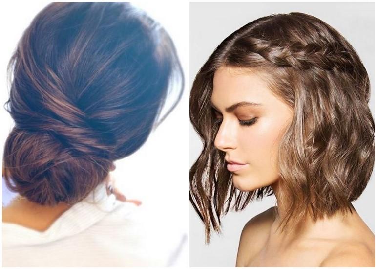 Leichte frisuren mit kurzen haaren  Mittellange haare