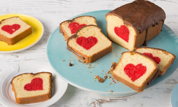 Wie kommt das Herz in den Kuchen backen Kreativitt