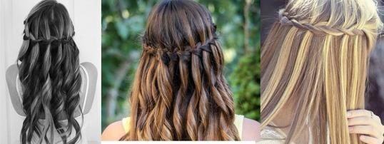Wie Macht Man Eine Wasserfall Frisur Zur Konfirmation? Haare