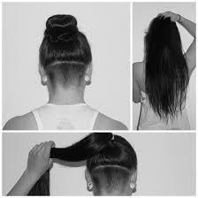 Nacken lange undercut frau haare Lange Haare