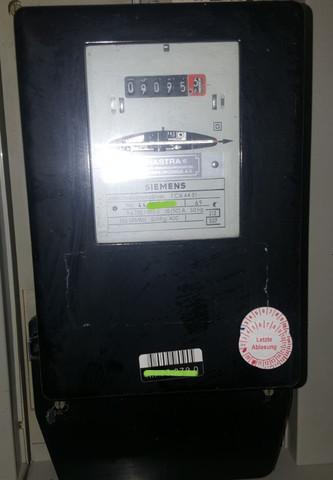 Wo ist die Stromzhlernummer auf dem Bild Strom Zhler