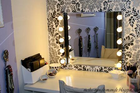 Spiegel mit beleuchtung ikea  Schminktisch Beleuchtung Ikea - Boisholz