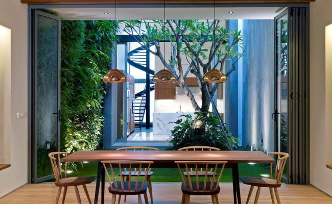 Peranakan Shophouse Transformed By Ong Ong Into A Modern