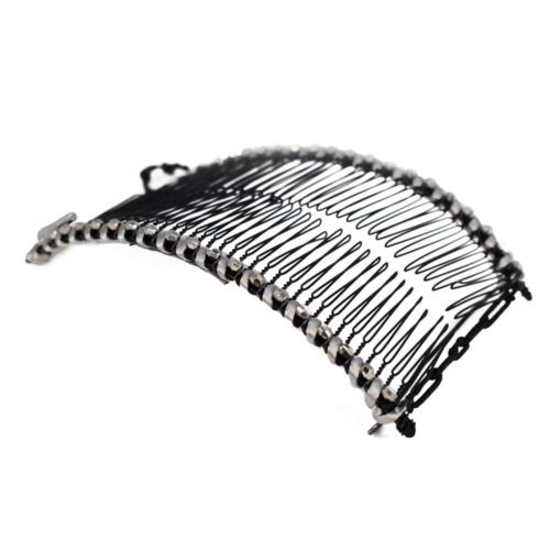 HairZing, Banana Clip, Double Comb For Thick, Curly