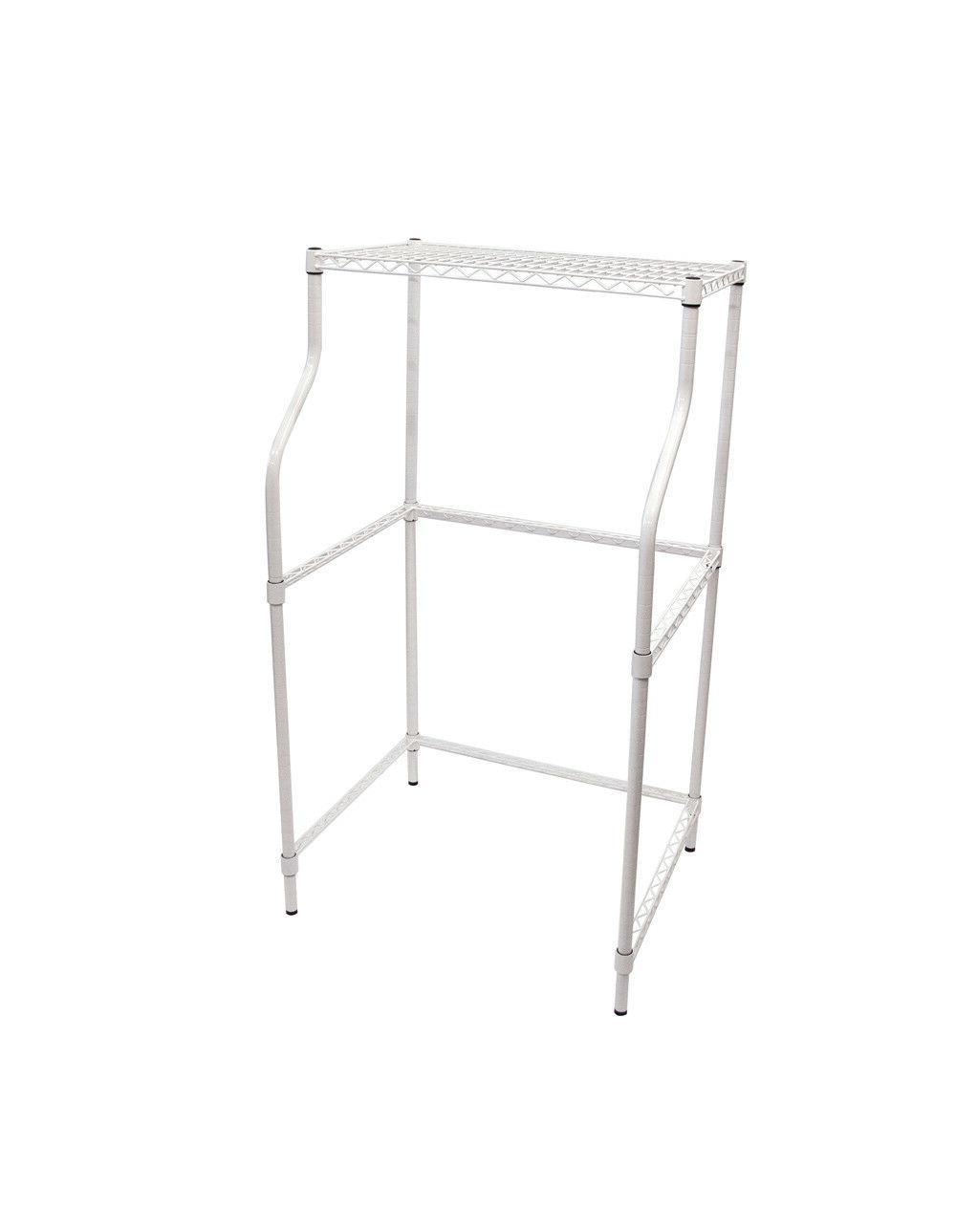 Compact Laundry Stand Portable Storage Dryer Washer Adjustable
