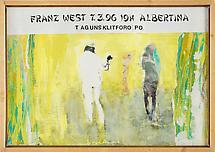 franz west ausstellungen hall art foundation