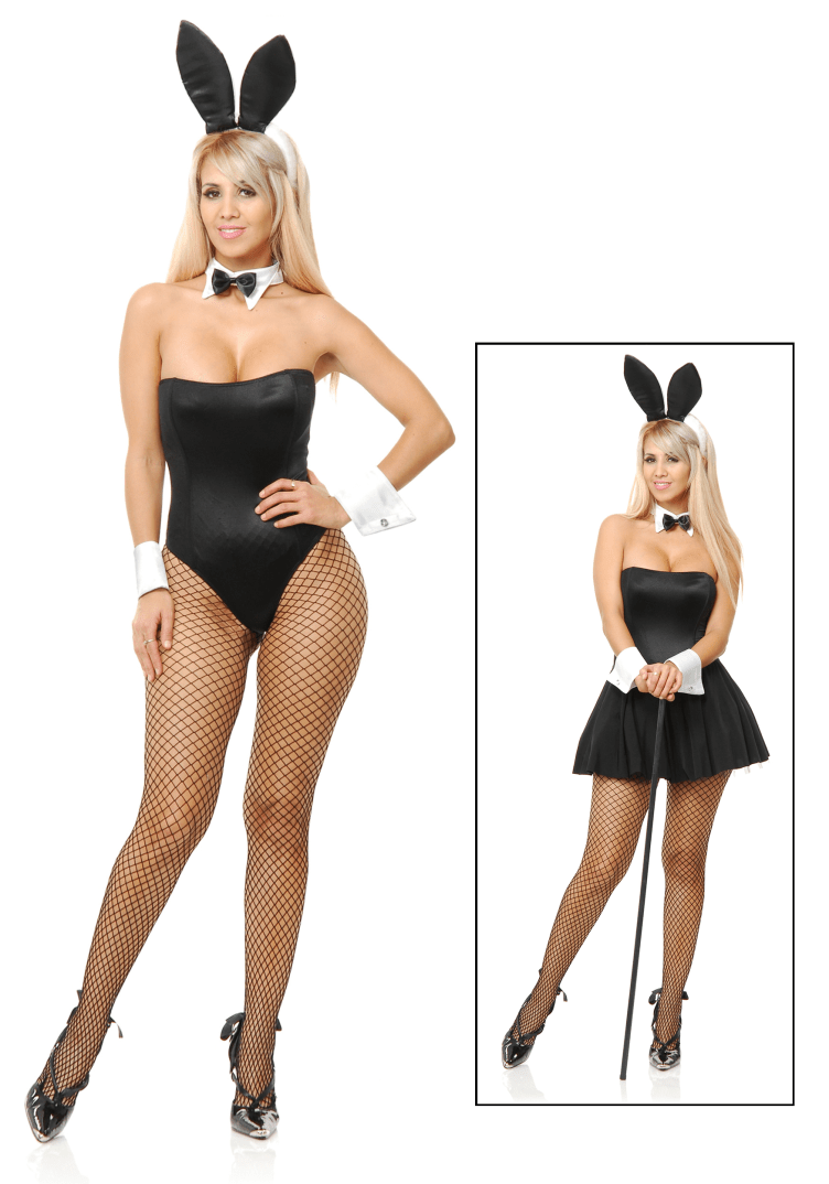 Sexy Retro Playtime Bunny Costume - Playboy Costumes