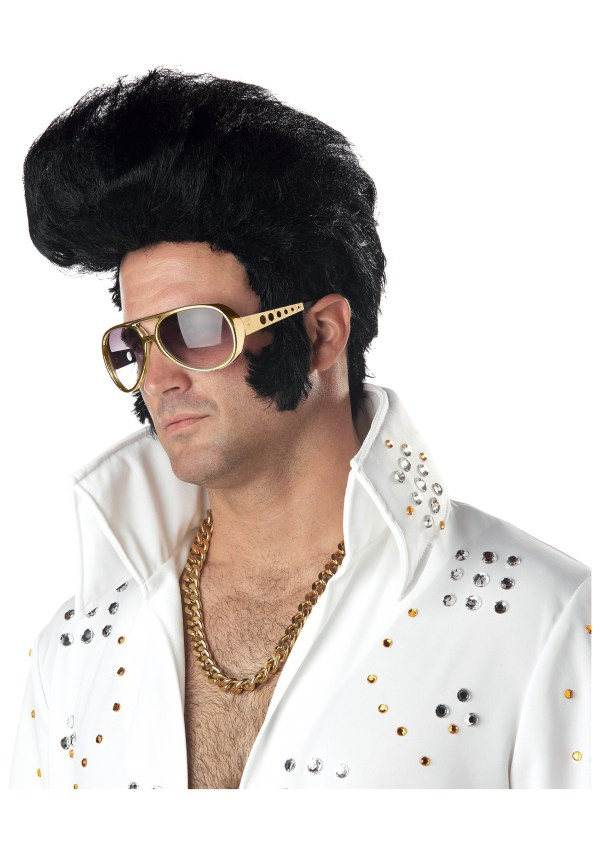 Elvis Wig - Rock Roll Halloween Costume Wigs