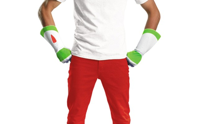 Buzz Lightyear Adult Costume Kit Cheap Toy Story Costume