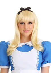 adult storybook alice wig - womens