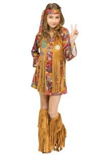 Peace Love Hippie Costume