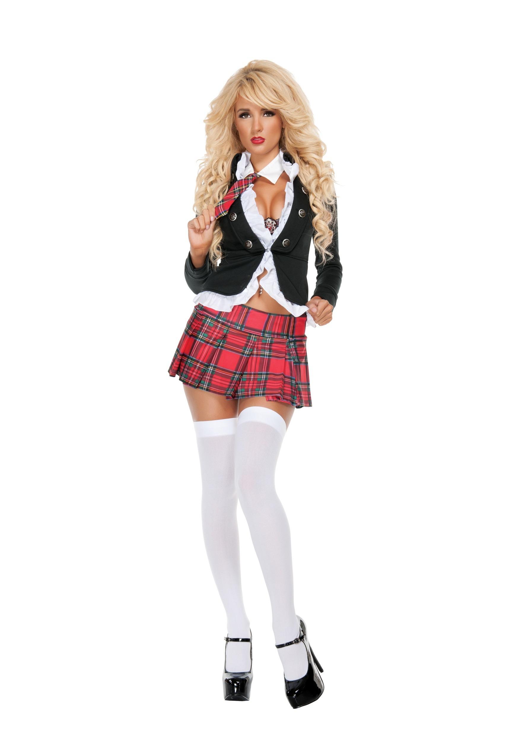 Uptown School Girl Costume For Women