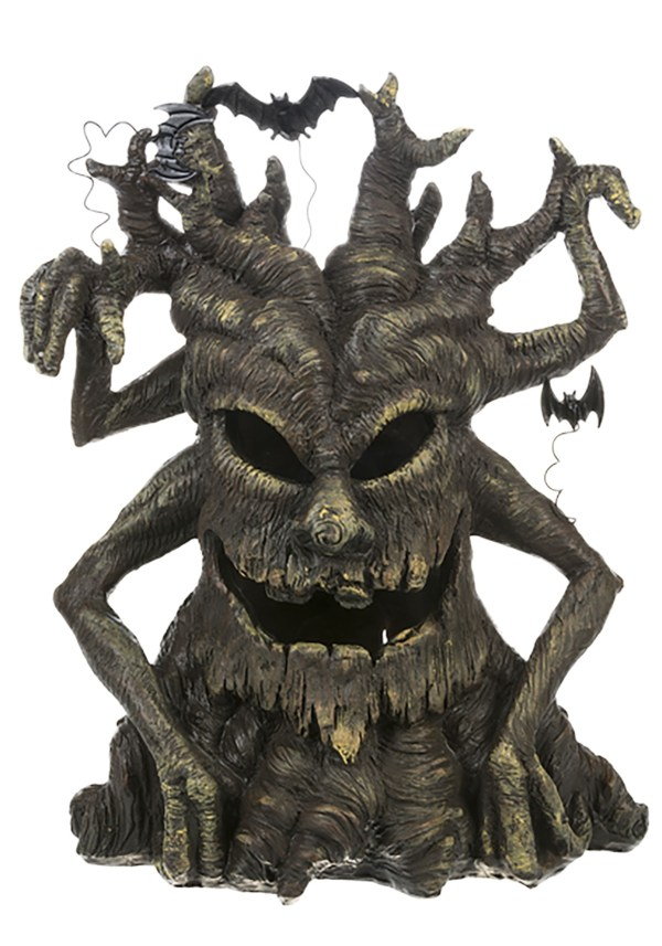 Spooky Large Light Tree Figurine