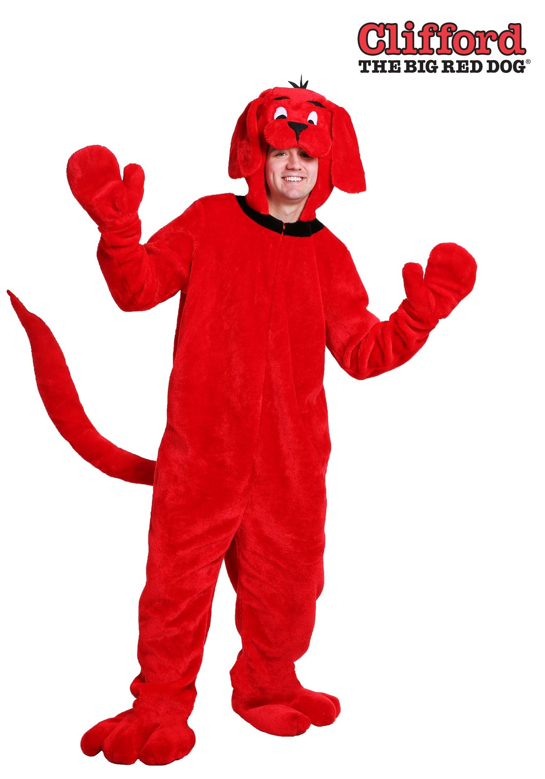 Dog Ears Clifford Red Big