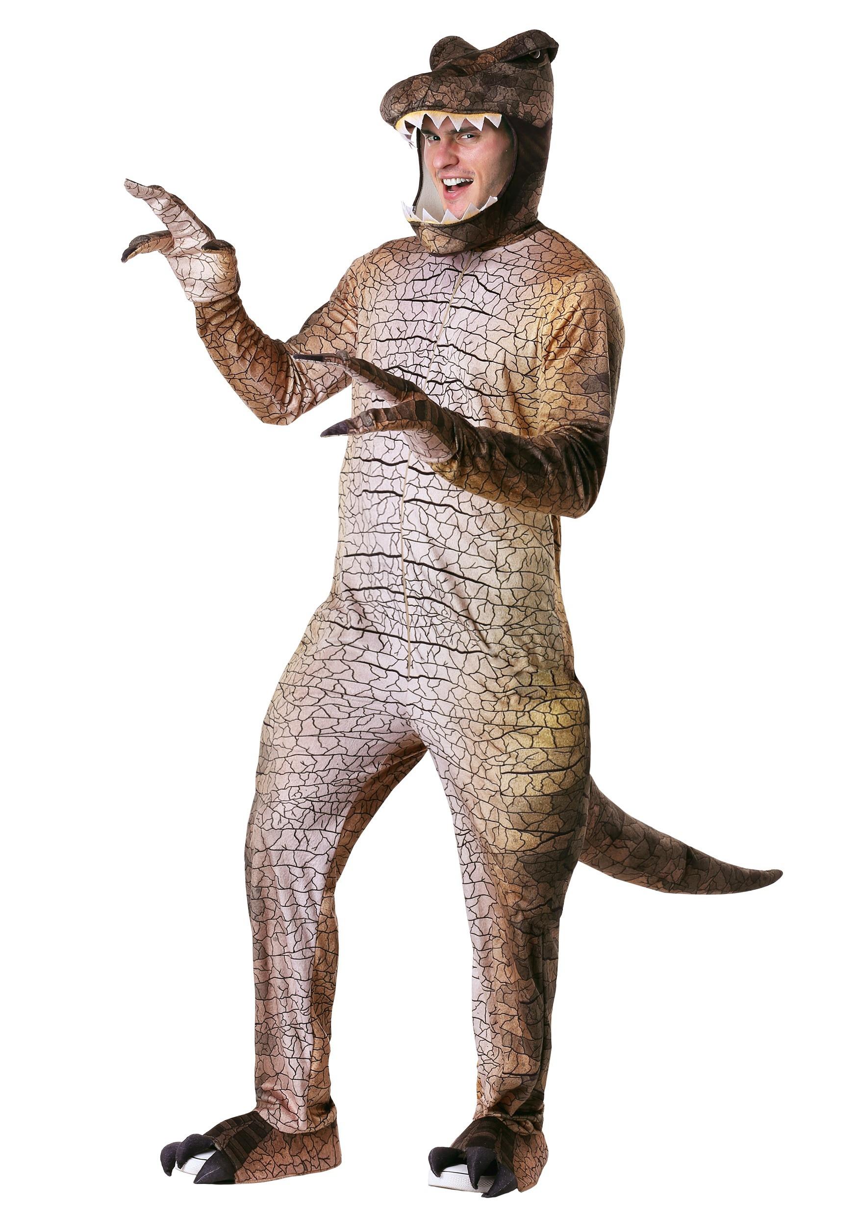 Prehistoric T Rex Dinosaur Costume For Men