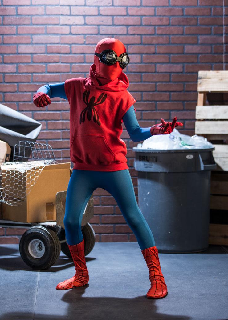Homemade Spiderman Costume : homemade, spiderman, costume, Spider-Man:, Homecoming, Halloween, Costume, HalloweenCostumes.com
