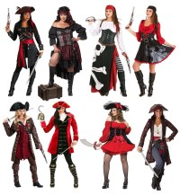 Pirates Carrying a Treasure Chest Costume Costumes Pirates and