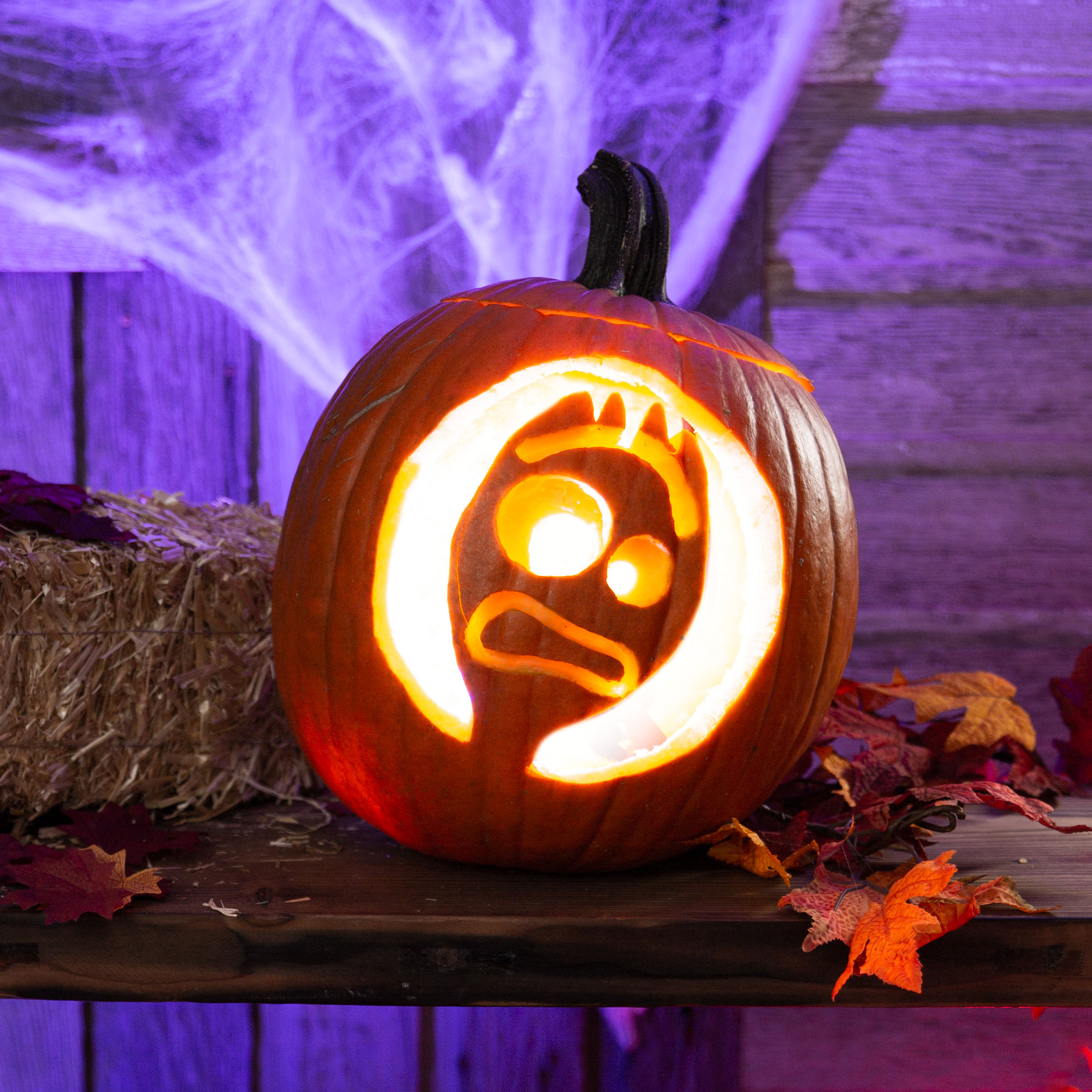 Pop Culture Pumpkin Carving Stencils That Scream