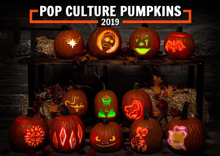 Pop Culture Pumpkin Carving Stencils That Scream 2019 Printables Halloweencostumes Com Blog