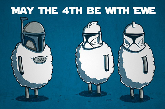 #May #the #Fourth #Be #With #Ewe #Darth #Vader #Star #Wars #May #the #Fourth #be #with #You #Star #Wars #Day #May #meme #quote #starwars #inspiration #happy #vmcblog #fun #enjoy #starwar