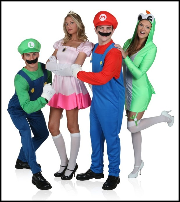 mushroom costume from mario source halloween costumes for group of four cartoonview co