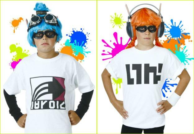diy splatoon inklings costumes