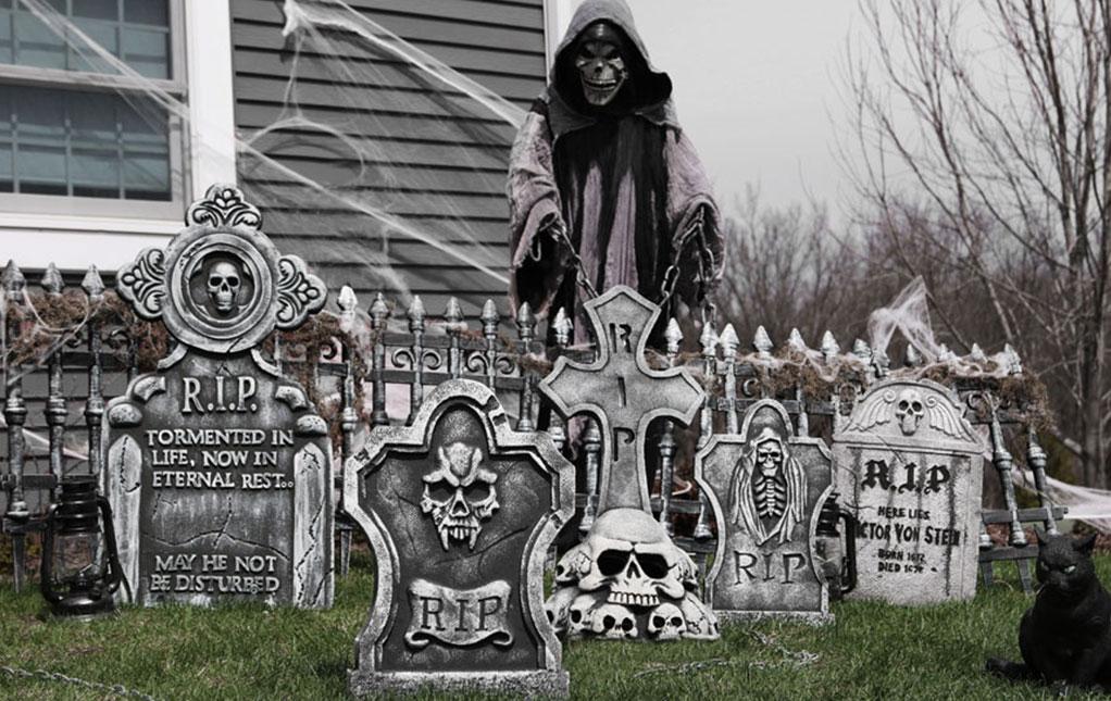halloween yard decorations