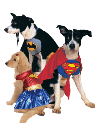 90s Cartoon Superhero Dogs