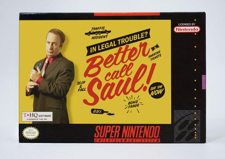 Better Call Saul SNES