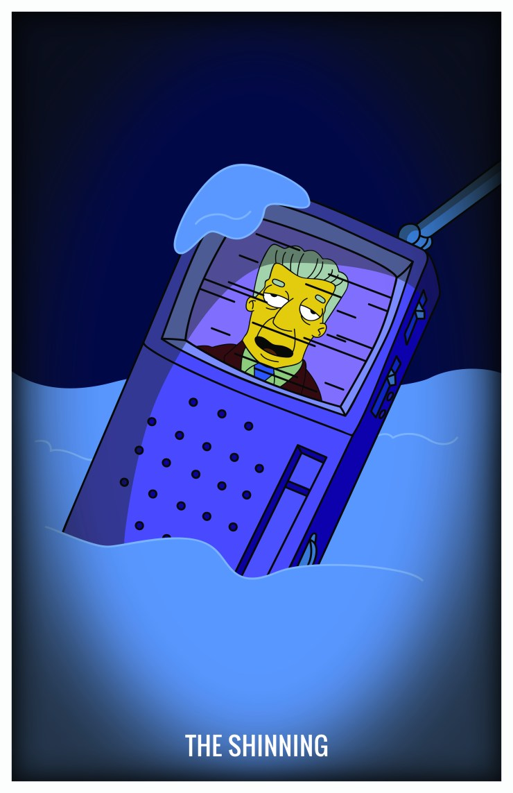 Treehouse of Horror - The Shinning