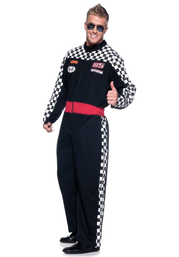 Mens Race Car Driver Costume
