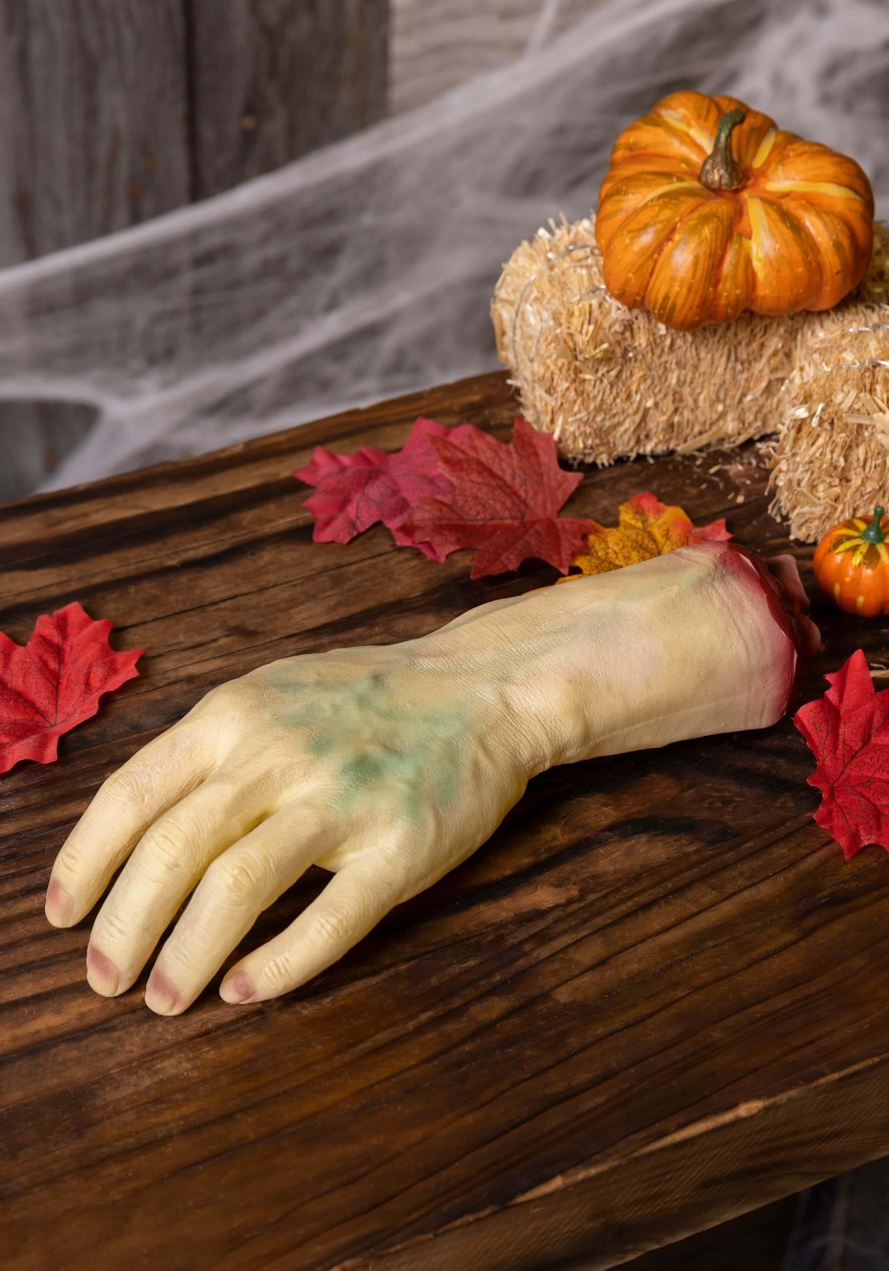 Life Size Severed Hand Decoration