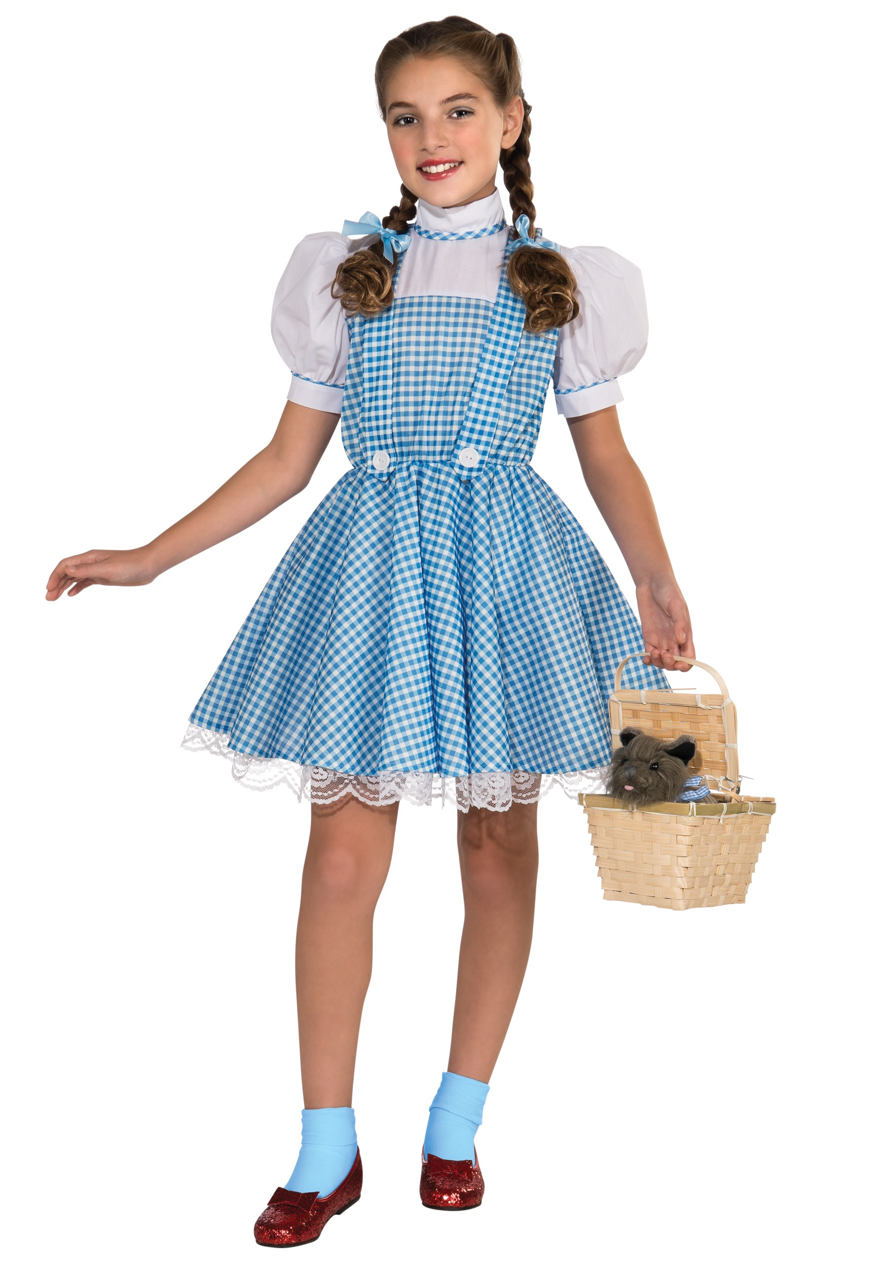 Halloween Costumes For Girls Age 11 13 : halloween, costumes, girls, Deluxe, Dorothy, Costume