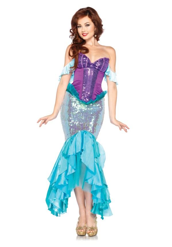 Women' Disney Deluxe Ariel Costume