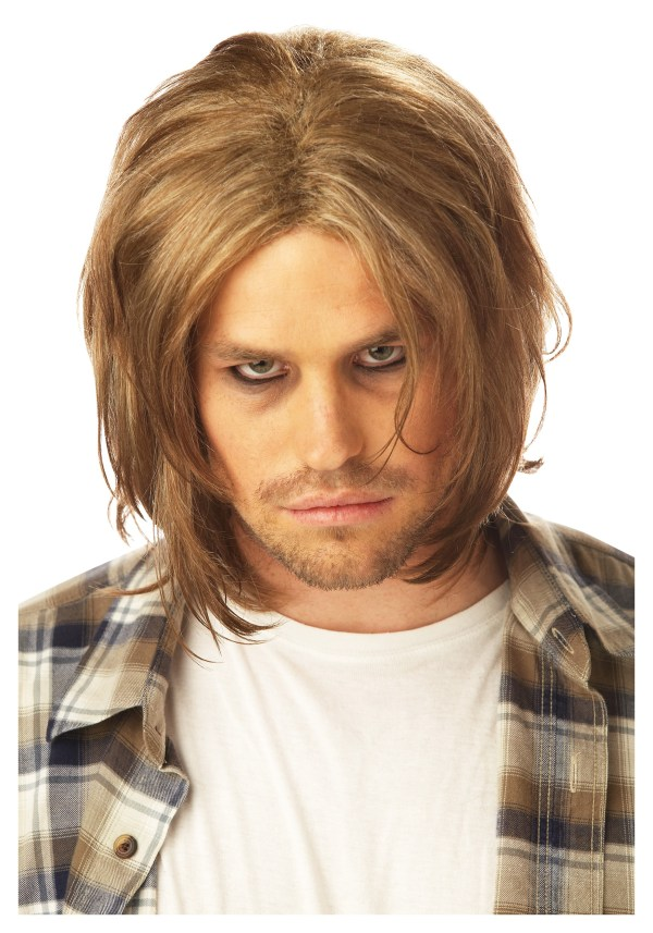 Grunge Mens Blonde Wig